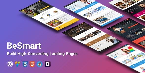Converting Landing Page WordPress Theme