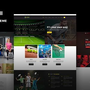 Fitness Gym Trainer WordPress Theme