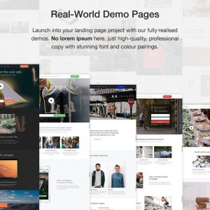 Landing Page & Marketing WordPress Theme