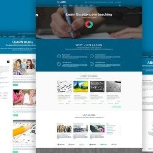 Education, eLearning WordPress Theme