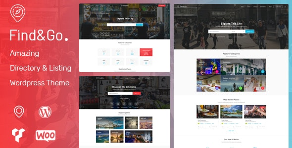 Directory Listing WordPress Theme