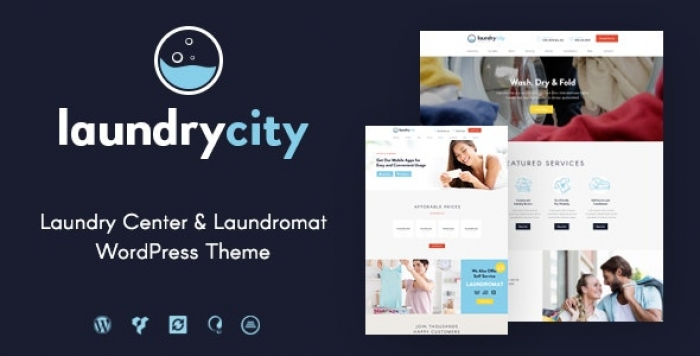 Dry Cleaning Services WordPress Theme