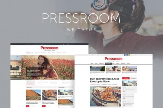 News and Magazine WordPress Theme