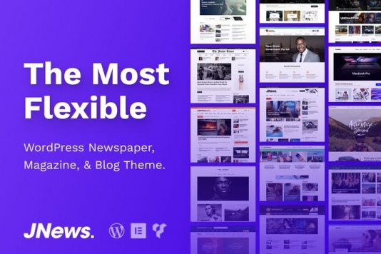 WordPress Newspaper Magazine Blog AMP Theme