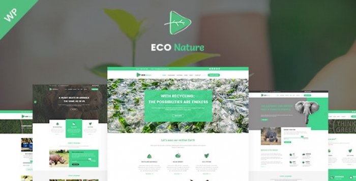 Environment & Ecology WordPress Theme