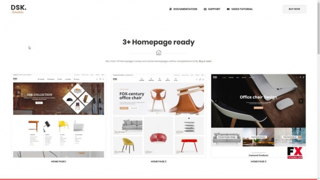 Furniture Store WooCommerce WordPress Theme