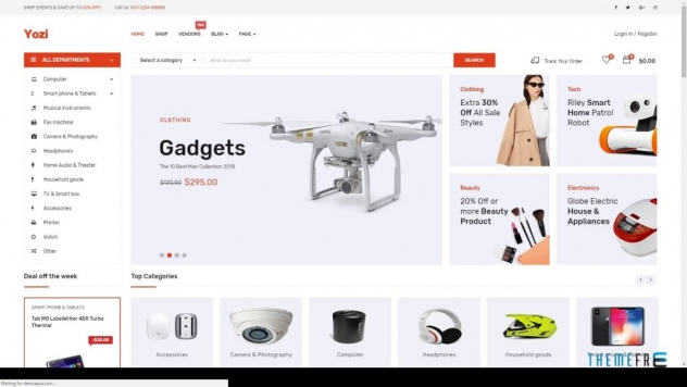 Multipurpose Electronics WooCommerce WordPress Theme