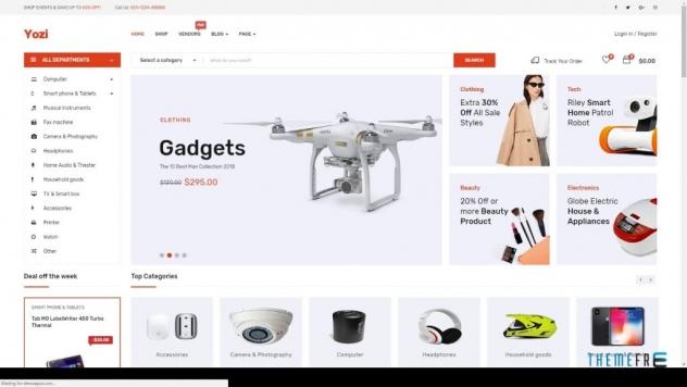 Multipurpose Electronics WooCommerce WordPress Theme