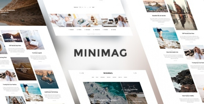 Magazine and Blog WordPress Theme