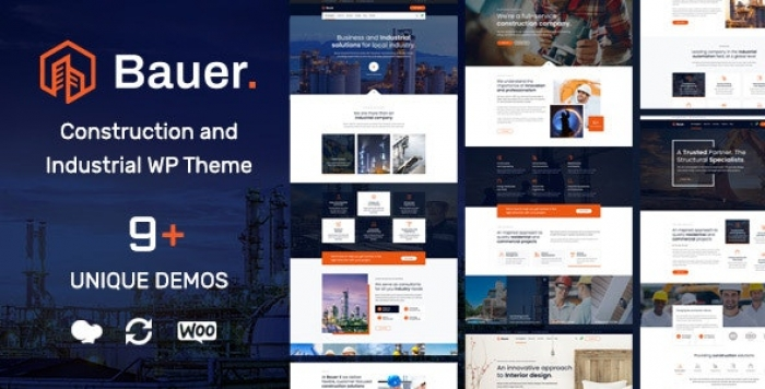 Construction and Industrial WordPress Theme